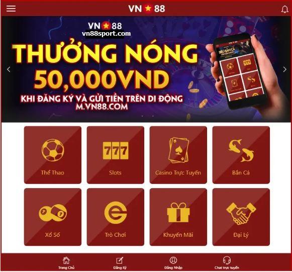 Thong tin app vn88 hinh anh 1