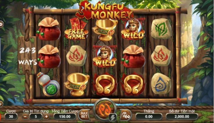 Thong tin ve game Kungfu Mokey Vn88