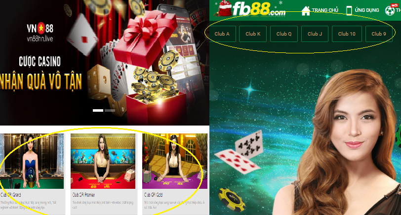 Review casino Vn88 vs Fb88