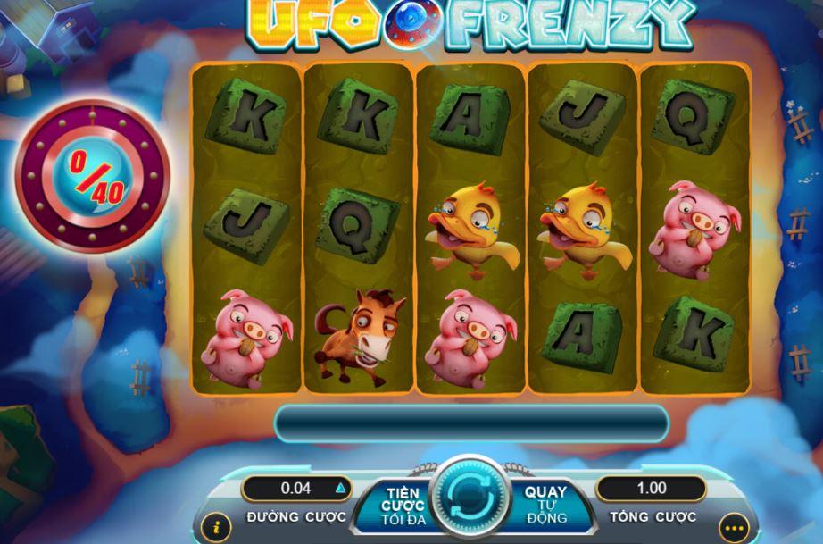 Huong dan cach choi UFO Frenzy slots