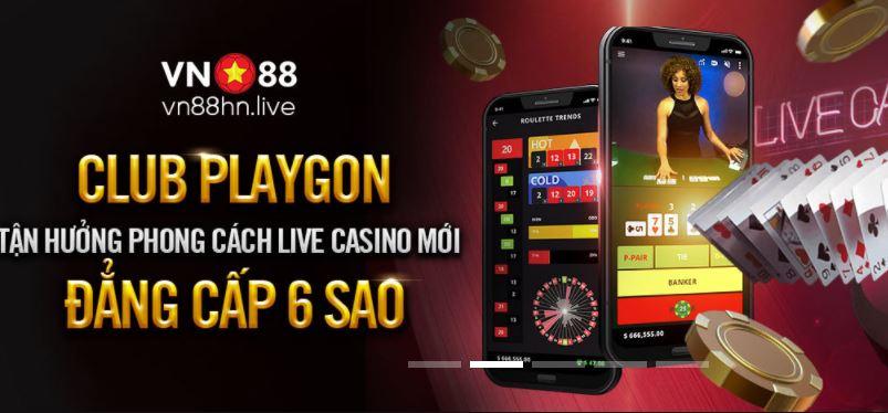 Thong tin thuong song bai Playgon Live Casino